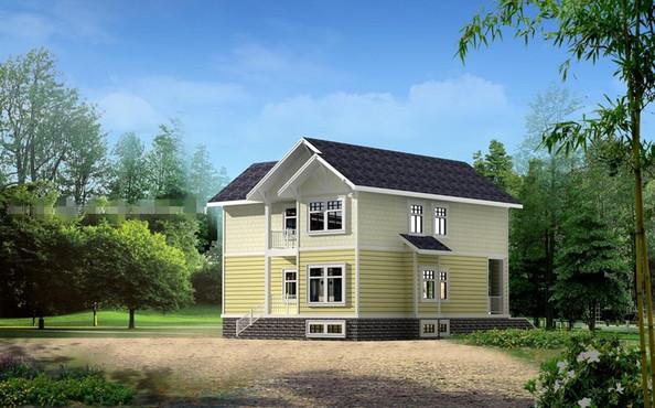 张农村4层房屋设计图