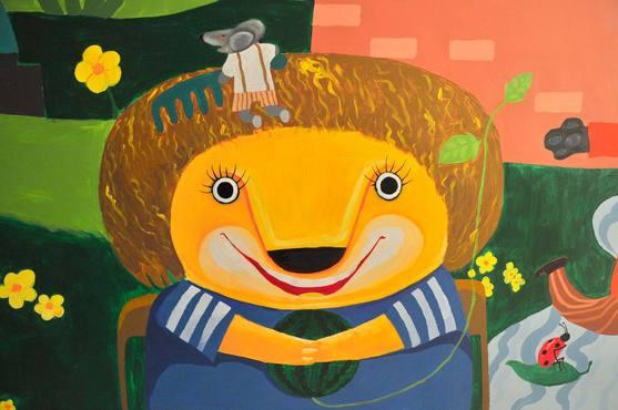 广州幼儿园手绘墙画,广州室内墙画