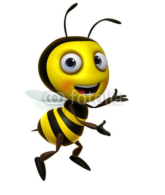 卡通蜜蜂采蜜图片图片_卡通蜜蜂采蜜图片图片下载
