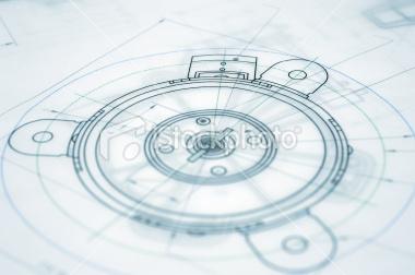 建筑蓝图 机械 工程图纸 archite