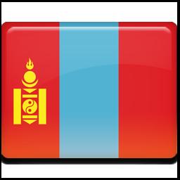 蒙古国旗图标 所有国家的国旗 高清图片