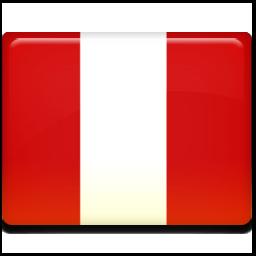 秘鲁国旗图标 所有国家的国旗 高清图片