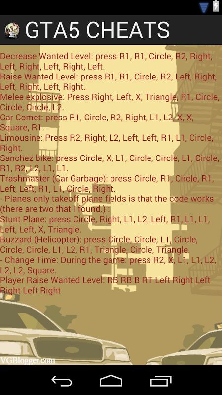 玩免費模擬APP|下載GTA5 CHEATS app不用錢|硬是要APP