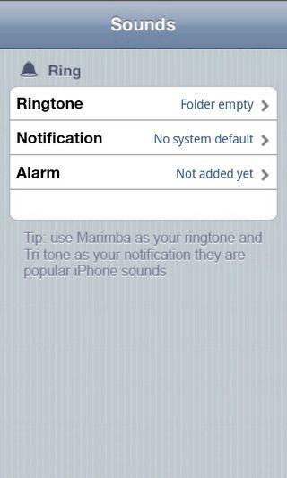 iPhone手机铃声