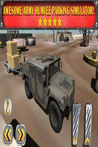 3D陆军卡车停车场游戏