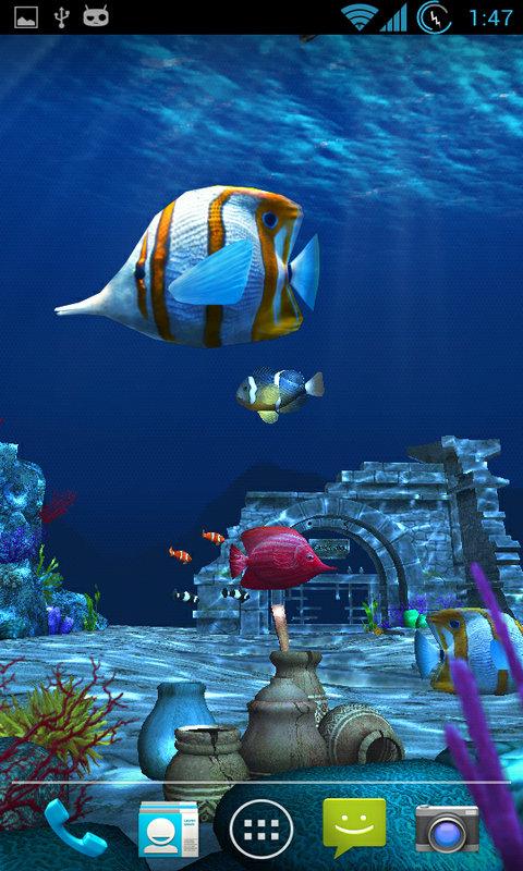 海洋3D动态壁纸-应用截图