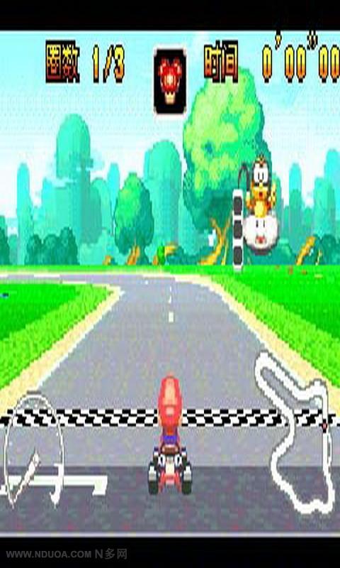 马里奥跑跑车