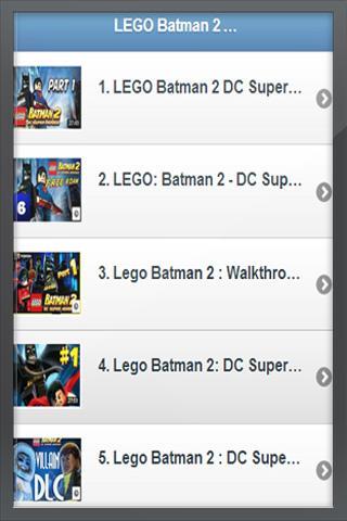 乐高蝙蝠侠 LEGO Batman 2 DC HD Video