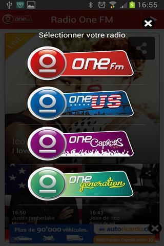 FM调频收音机 Radio One FM