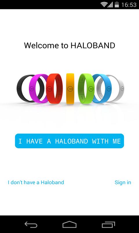 HALOBAND-应用截图