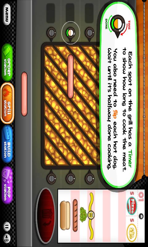 【免費遊戲App】爸爸的热狗店-APP點子