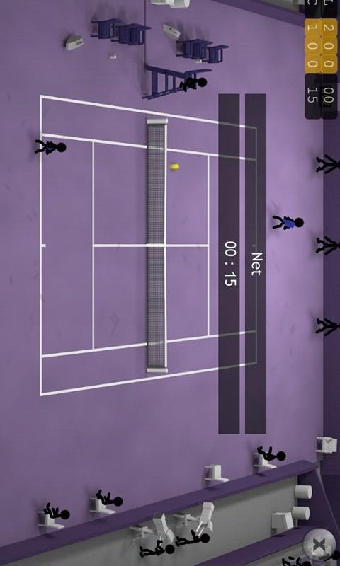 【免費體育競技App】火柴人网球-APP點子