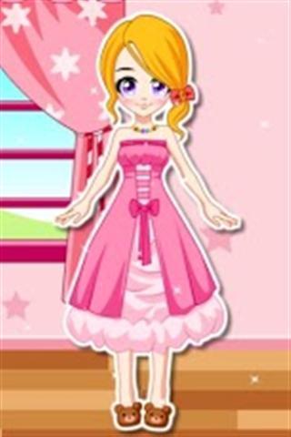 【免費遊戲App】动漫女孩打扮-APP點子