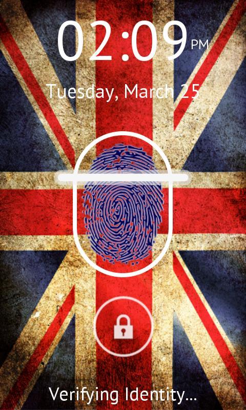 指纹识别 锁屏