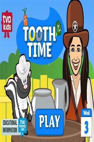 刷牙时间 TVOKids Tooth Time|玩棋類遊戲App免費|玩APPs