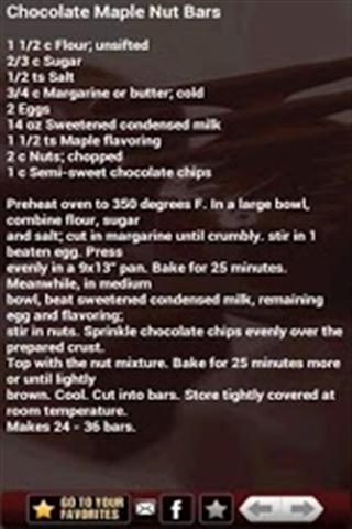 巧克力食谱 Chocolate Recipes