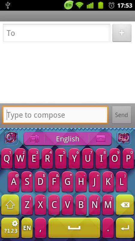 【免費個人化App】GO Keyboard Children2012-APP點子