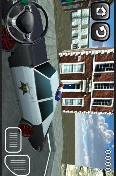 【免費賽車遊戲App】3D警车停车-APP點子