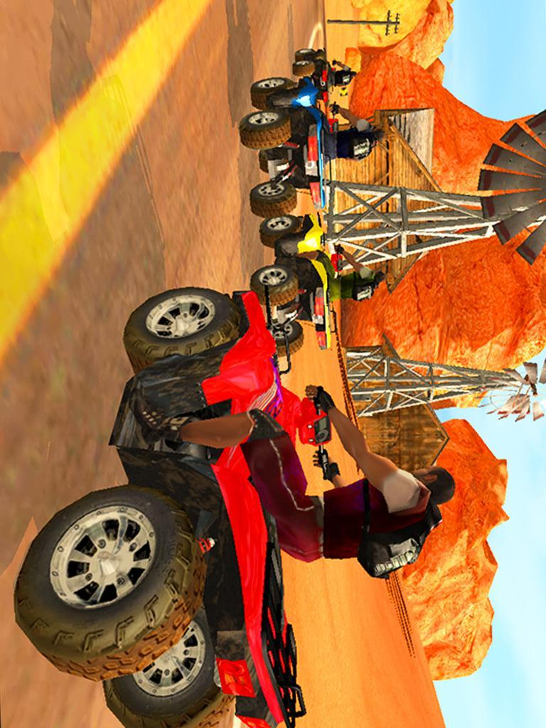四轮摩托竞赛-应用截图