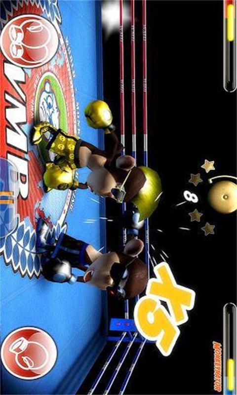 猴子拳击比赛