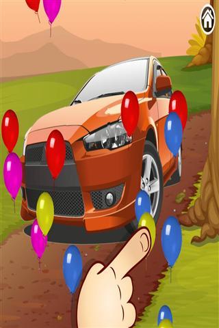 儿童和幼儿的汽车拼图 Car Puzzle for kids toddlers