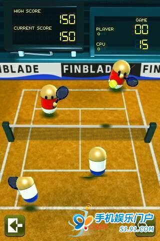 【免費體育競技App】tennisSlam 网球小游戏-APP點子