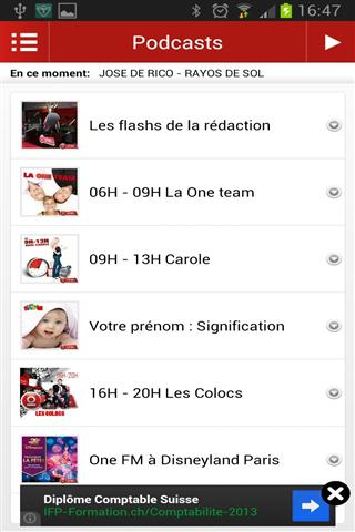 玩媒體與影片App|FM调频收音机 Radio One FM免費|APP試玩
