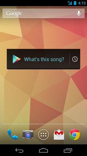 Google音乐识别