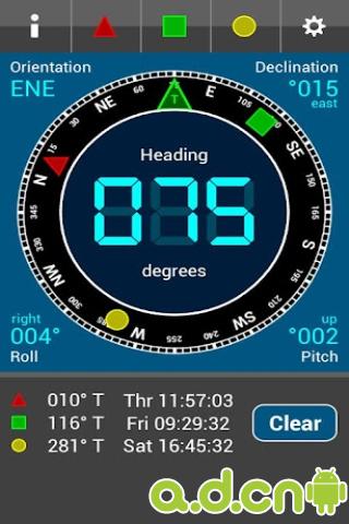 野外指南针