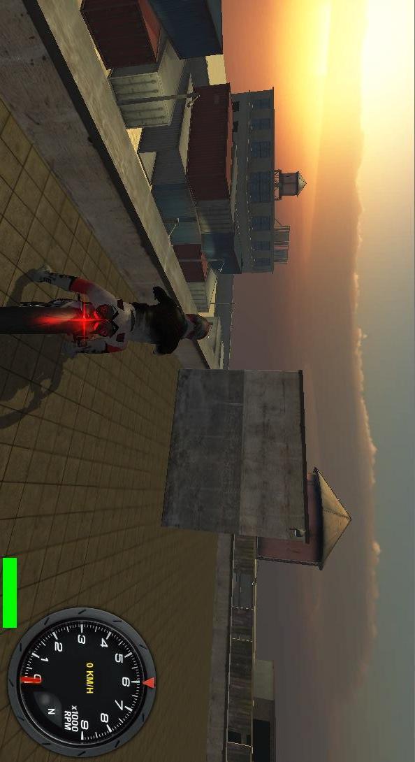 3D摩托车比赛
