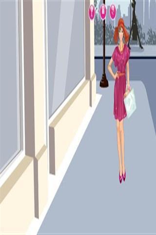 Dressup Shopping Girl