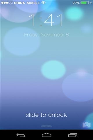 iPhone5S屏幕锁