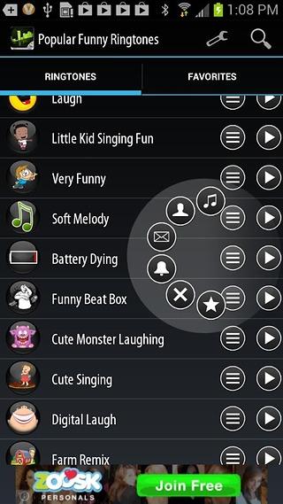 【免費媒體與影片App】流行趣味铃声-APP點子